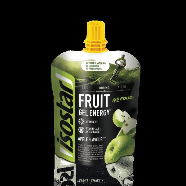 Isostar Actifood Apple Fruit Gel Energy 90g