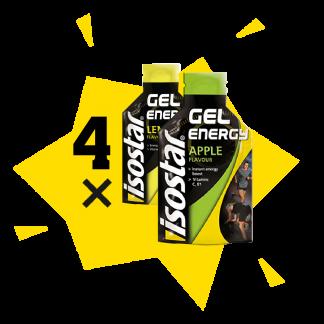 Energy gel želejas x4